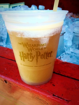 Frozen Butter Beer- it's the best way to have butter beer