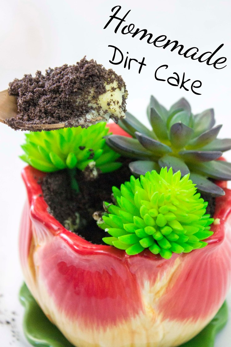 Dirt Cake Pinterest image