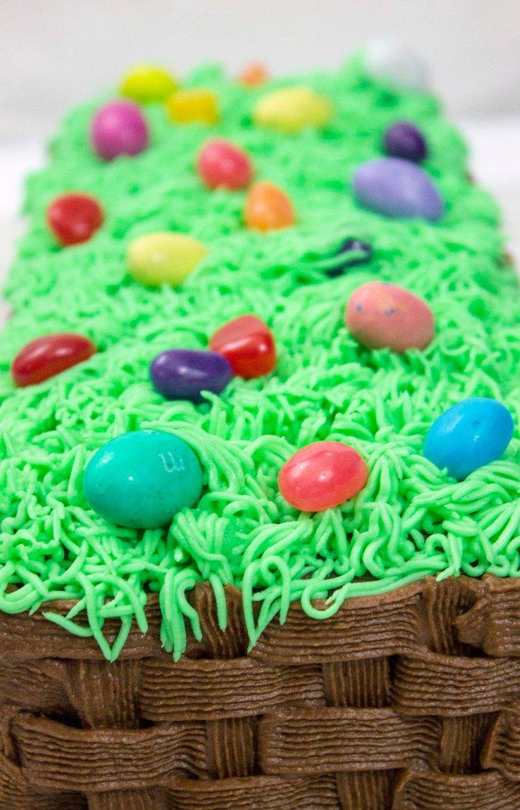 Easter Basket Cake 2