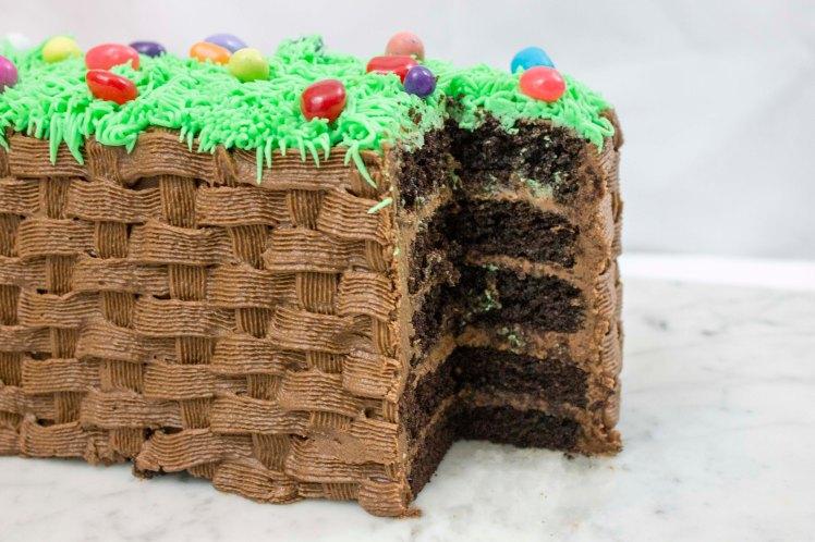 Easter Basket Cake-3