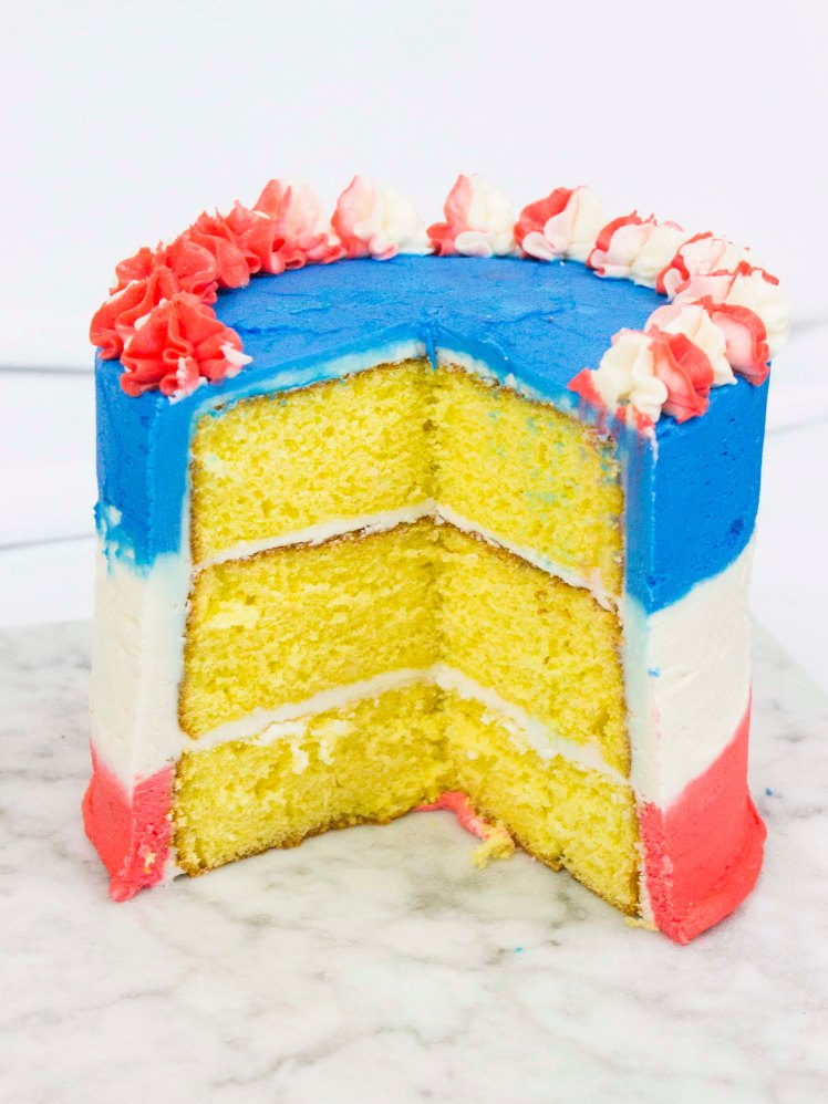 Fourth of July Cake-2