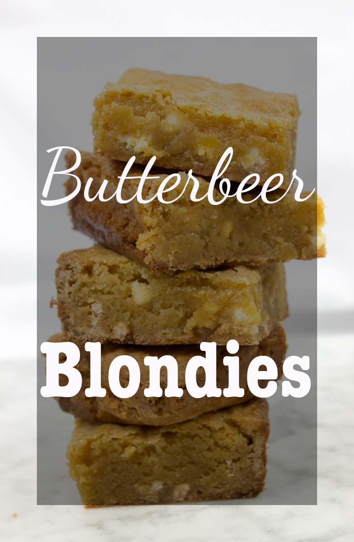 Butterbeer Blondies Pinterest