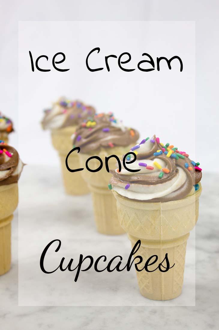 Ice Cream Cone Cupcakes Pinterest