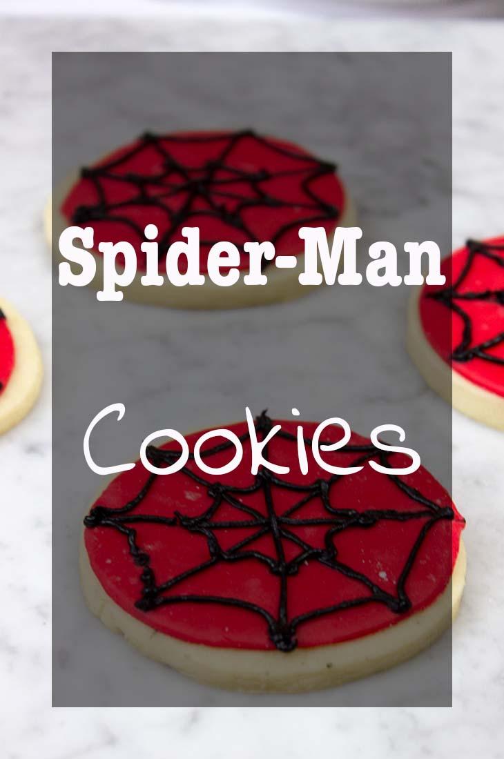 Spider-Man Cookies Pinterest