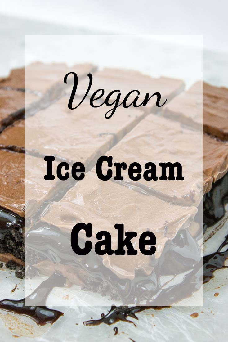 Vegan Ice Cream Cake-Pinterest