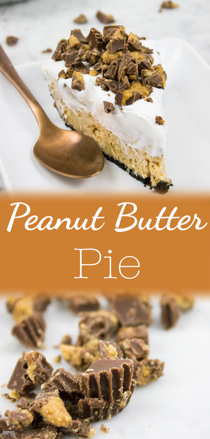 Peanut Butter Pie-Pinterest